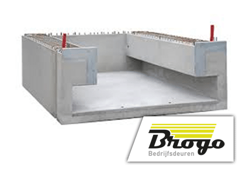 prefab elementen loadingdocks - brogo bedrijfsdeuren